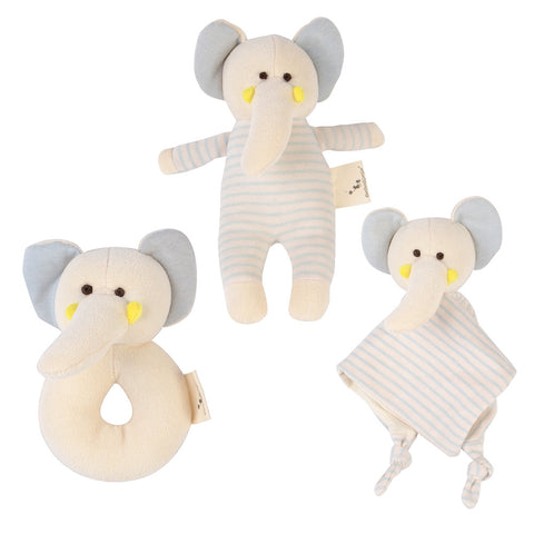 Elephant Plush Toy Gift Set 3 Pack