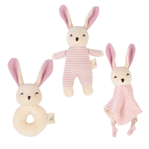 Bunny Plush Toy Gift Set 3 Pack