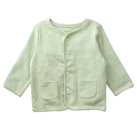Baby Cardigan Top Olive
