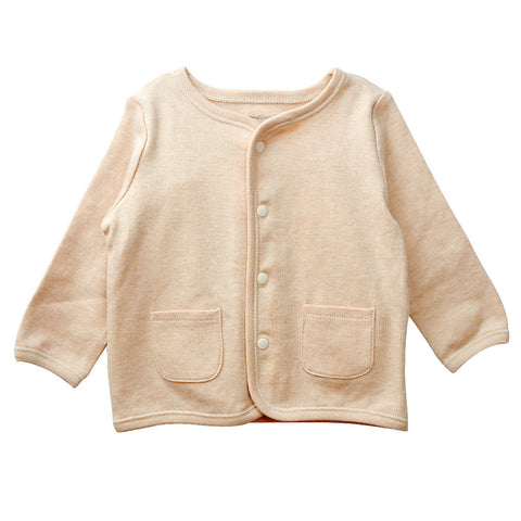 Baby Cardigan Top Brown