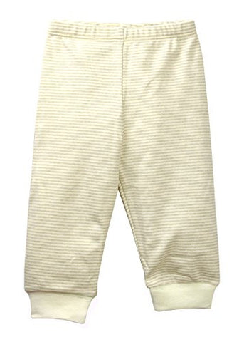 Baby Pajamas Pant Brown Stripe