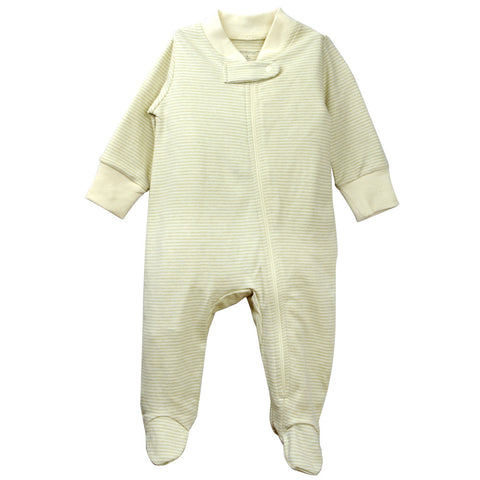 Baby Footed Pajamas Olive