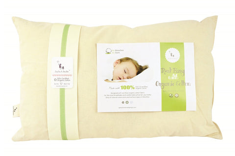 Toddler Pillow Beige