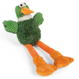 GoDog Checkers Skinny Duck Green, Assorted Sizes