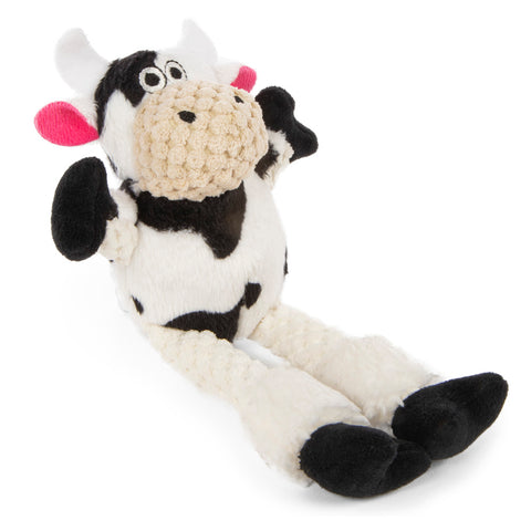 GoDog Checkers Skinny Cow White, Assorted Sizes