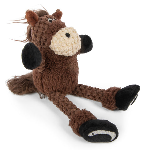 GoDog Checkers Skinny Horse Brown Assorted