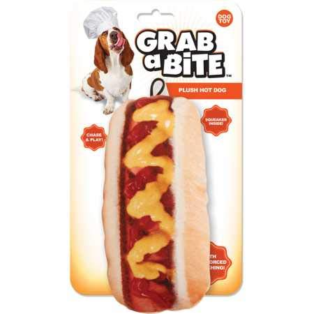 Jakks Grab a Bite Plush Hot dog