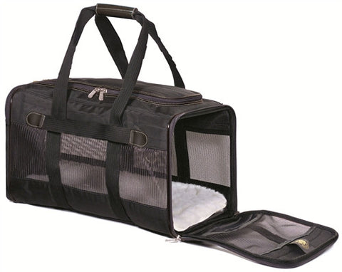 Sherpa Pet Carrier Original Dlx Black Medium