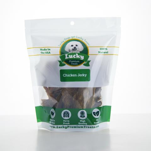 Lucky Premium Chicken Jerky Fillets