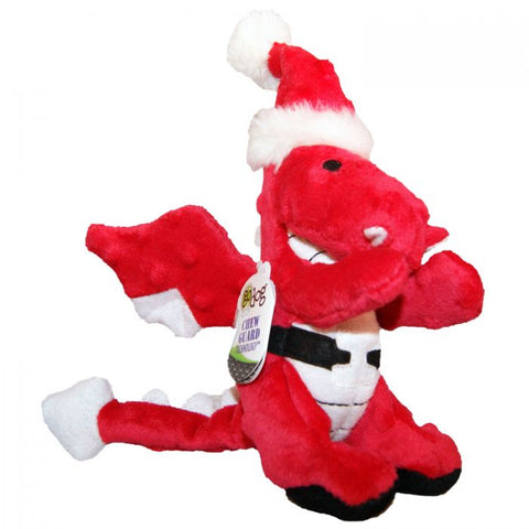 GoDog Dragon Red Santa Holiday Small