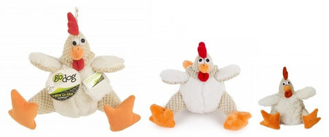 GoDog Checkers Fat Rooster Assorted Sizes
