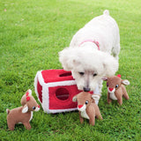 Zippy Paws Holiday Reindeer Pen