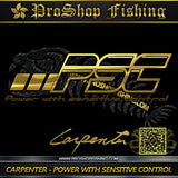 Carpenter PSC (Power with sensitive control) jigging rods
