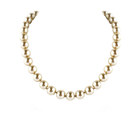 "18"" CHAMPAGNE MOON NECKLACE"