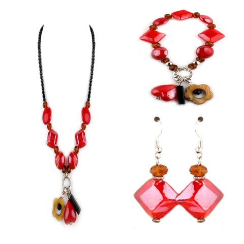 Fina Red Collection Set