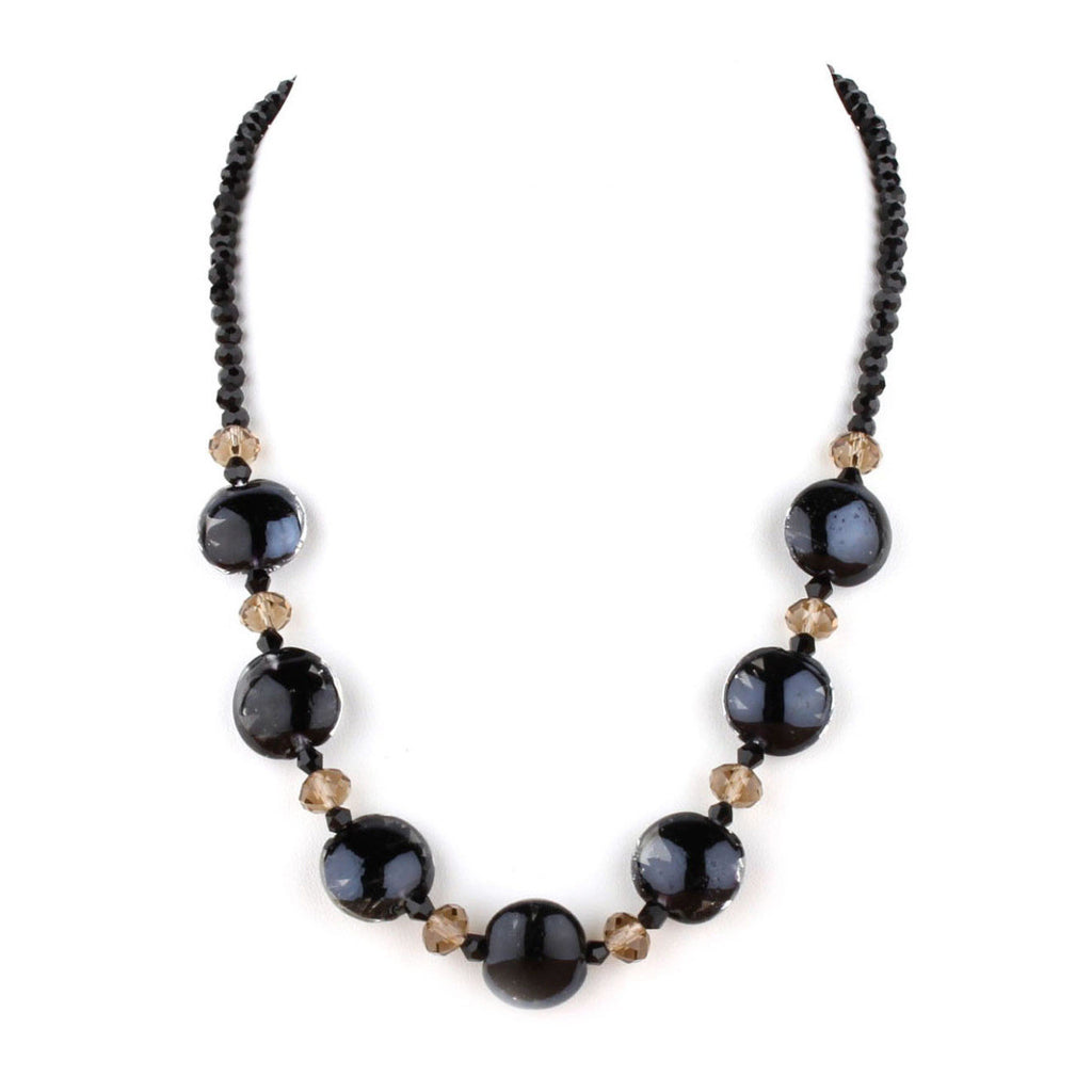 Luna Black Necklace