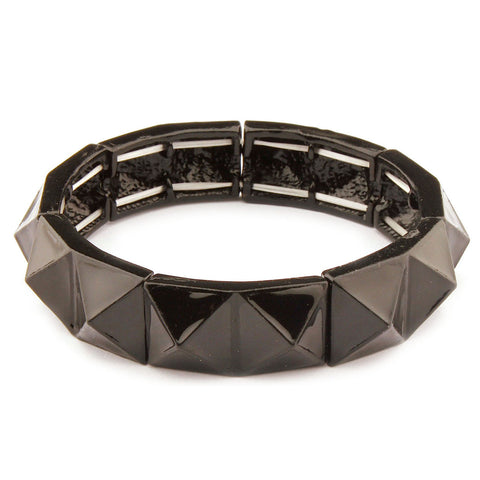 Bangle Collection Black Burnish Bracelet