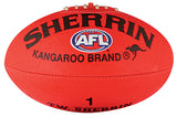 Sherrin Synthetic football - red/yellow, size 1-5