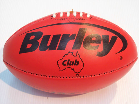 Burley Club football - red