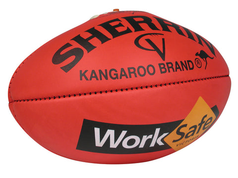 Sherrin KB WorkSafe AFL Vic Country Senior Game Ball