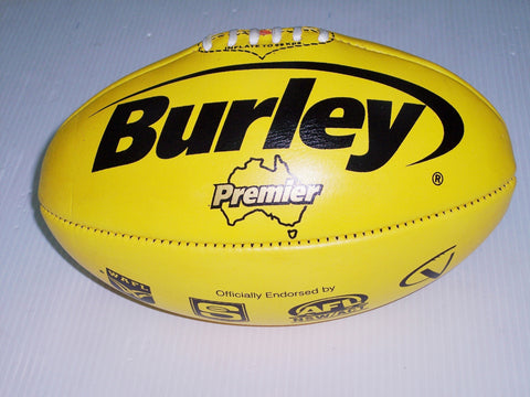 Burley Premier football - poly yellow