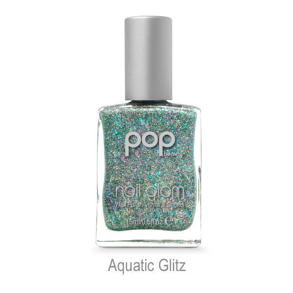POP Nail Glam - Aquatic Glitz