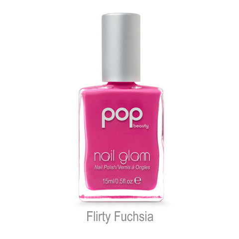 POP Nail Glam - Flirty Fuchusia