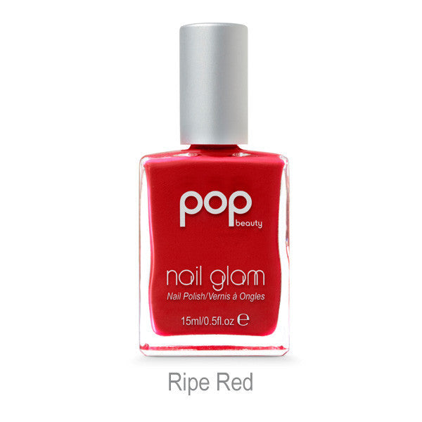 POP Nail Glam - Ripe Red