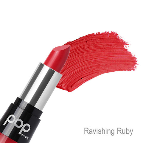 POP Beauty Matte Velvet Lipstix - Ravishing Ruby