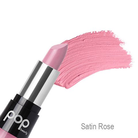 POP Beauty Matte Velvet Lipstix - Satin Rose