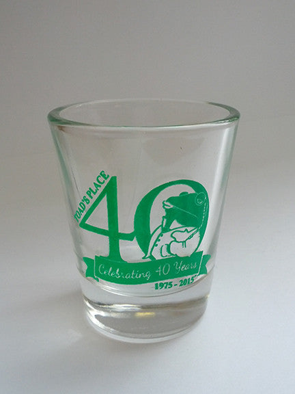 Toad's Place Shot Glass - 40th Anniversary