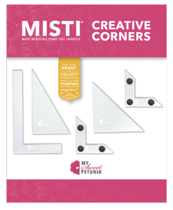Brand NEW in! MISTI Creative Corners -  To make stamping even easier!