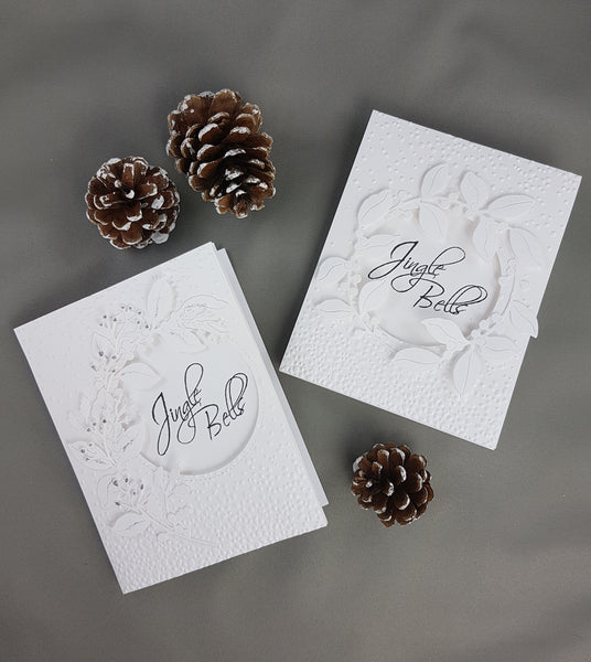 White Christmas Cards Fast And Elegant Scrapbook Warehouse