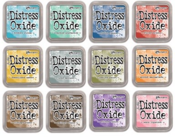 Tim Holtz Distress Oxide  12 Inkpads (Feb. '17)