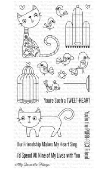 MFT Purr-fect Friends Stamp Set