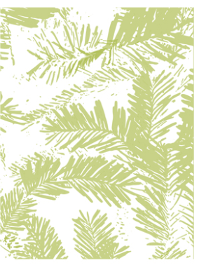 Richard Garay Pine Needles Embossing Folder