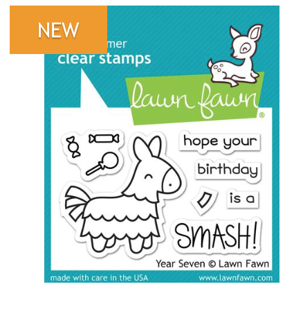 Lawn Fawn Year Seven Stamp Set