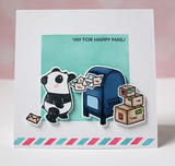 Mama Elephant Incoming Mail Stamp Set #Q