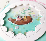 Mama Elephant Otterly Adorable Die & Stamp Bundle