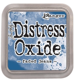 Tim Hotz Distress Oxide - Faded Jeans Ink pad