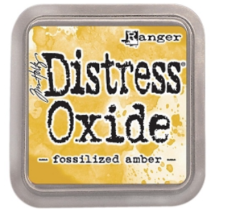 Tim Hotz Distress Oxide - Fossilized Amber Ink pad