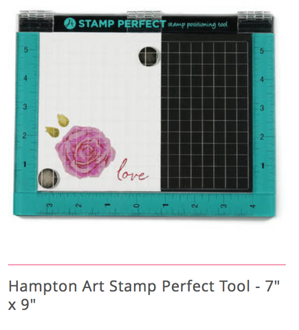 Hampton Art Stamp Perfect (Misti stamping type tool)