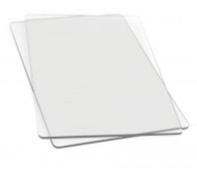 Sizzix Clear Cutting Pads (1 pair)