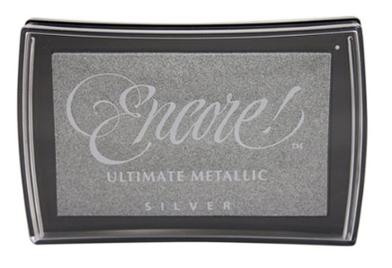 Ultimate Metallic Silver Inkpad