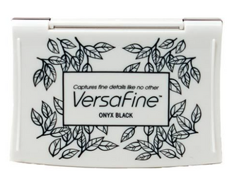 Versafine Full Sized Inkpad Onyx Black