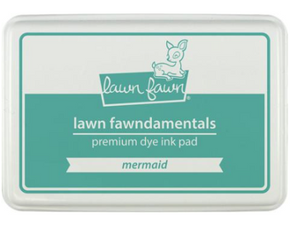 Lawn Fawn Premium Dye Ink Pad - Mermaid
