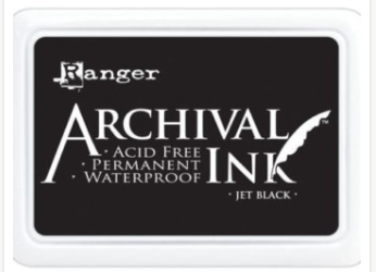Ranger Archival ink-  Jet Black