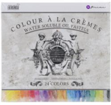Prima Water Soluble Oil Pastels (24 colours)