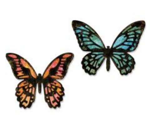 Sizzix  Mini Detailed Butterflies  (4 dies)