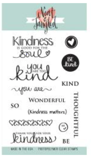 Neat & Tangled Kindness Matters Stamp Set